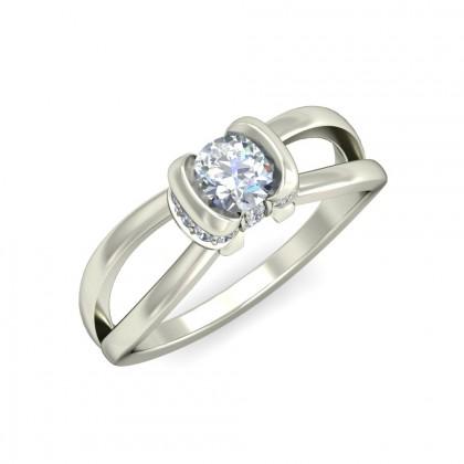 DISHA DIAMOND CASUAL RING in 18K Gold