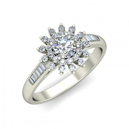 SELINA DIAMOND COCKTAIL RING in 18K Gold