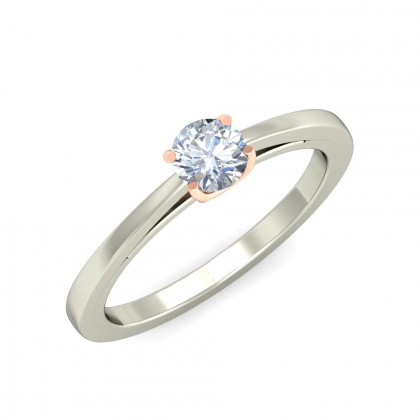 MEHAL DIAMOND CASUAL RING in 18K Gold