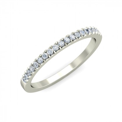 ALPITA DIAMOND BANDS RING in 18K Gold