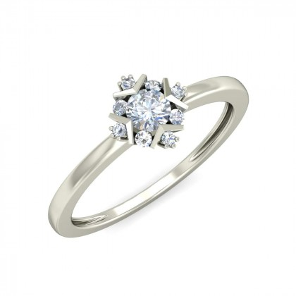 ANUJA DIAMOND CASUAL RING in 18K Gold