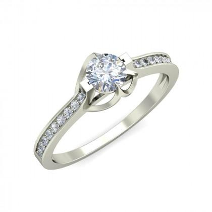 JANICE DIAMOND CASUAL RING in 18K Gold