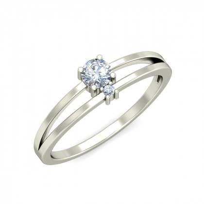 AMITI DIAMOND CASUAL RING in 18K Gold