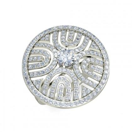DEVKI DIAMOND COCKTAIL RING in 18K Gold