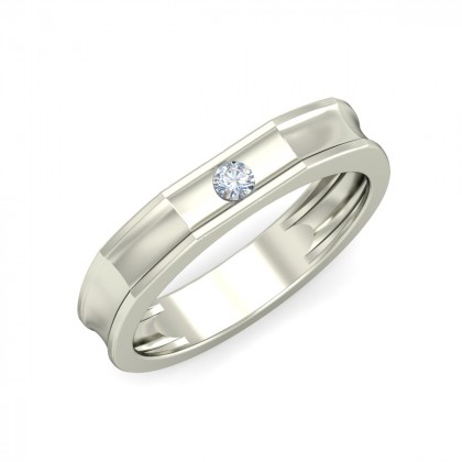 AMRITA DIAMOND BANDS RING in 18K Gold