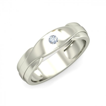 SHYAMA DIAMOND BANDS RING in 18K Gold