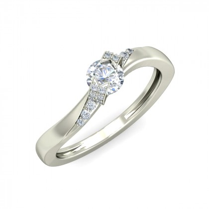 AVNITA DIAMOND CASUAL RING in 18K Gold