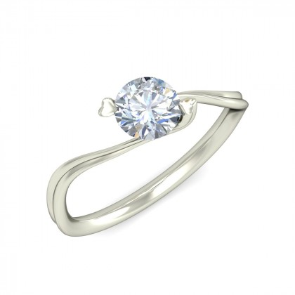 SAHIMA DIAMOND CASUAL RING in 18K Gold