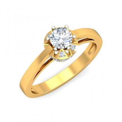 RAYA DIAMOND CASUAL RING in 18K Gold