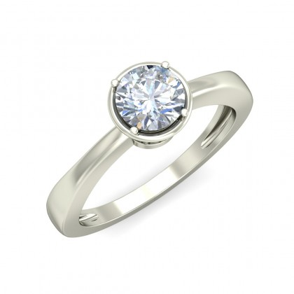 ANALEAH DIAMOND CASUAL RING in 18K Gold