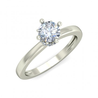 TRIPURI DIAMOND CASUAL RING in 18K Gold