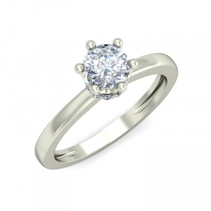 CHAYLA DIAMOND CASUAL RING in 18K Gold