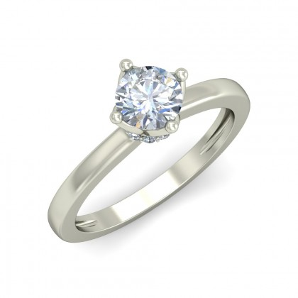 TINSLEY DIAMOND CASUAL RING in 18K Gold