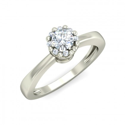 ASHWINA DIAMOND CASUAL RING in 18K Gold