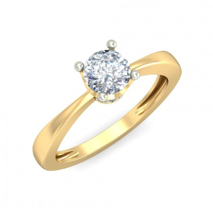 RAMYA DIAMOND CASUAL RING in 18K Gold