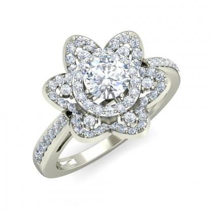 MANINI DIAMOND COCKTAIL RING in 18K Gold