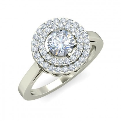 MOHATI DIAMOND COCKTAIL RING in 18K Gold