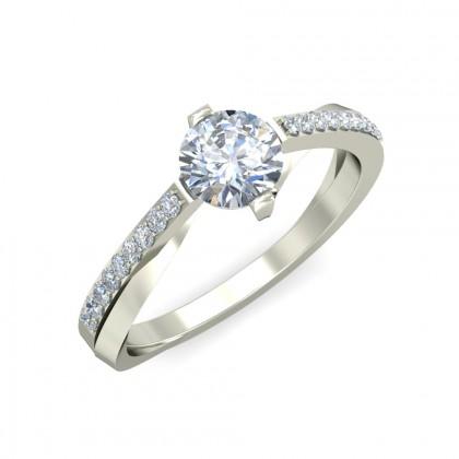 BIMBI DIAMOND CASUAL RING in 18K Gold