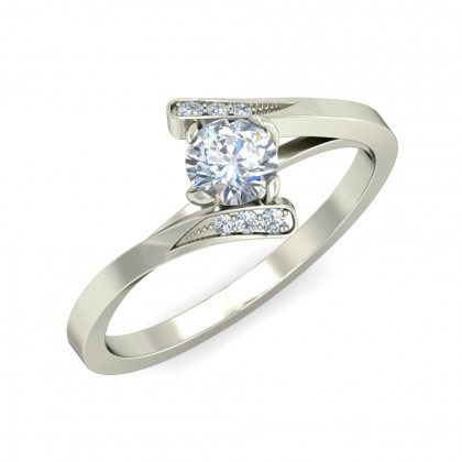 TARAI DIAMOND CASUAL RING in 18K Gold