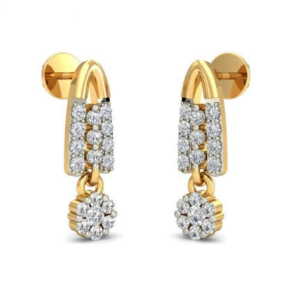 TAMASI DIAMOND DROPS EARRINGS in 18K Gold
