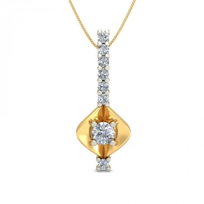 BIMBI DIAMOND FASHION PENDANT in 18K Gold