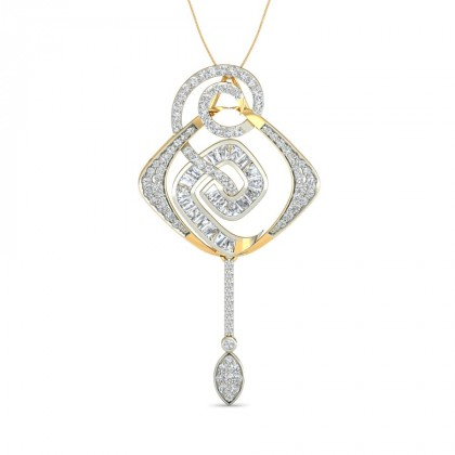 ANUMITA DIAMOND FASHION PENDANT in 18K Gold