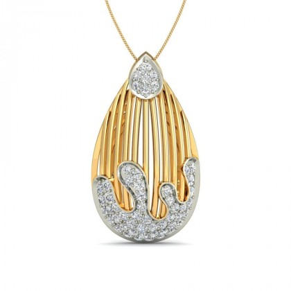 SAMPADA DIAMOND FASHION PENDANT in 18K Gold