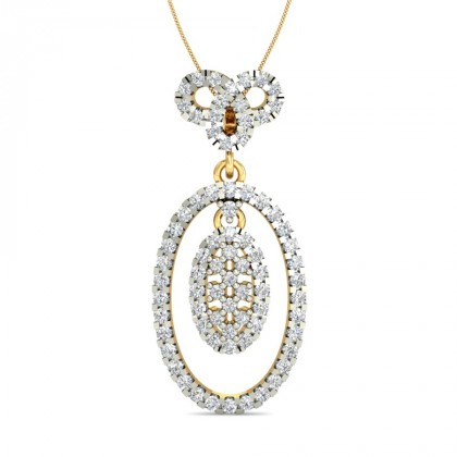 SHIVI DIAMOND FASHION PENDANT in 18K Gold