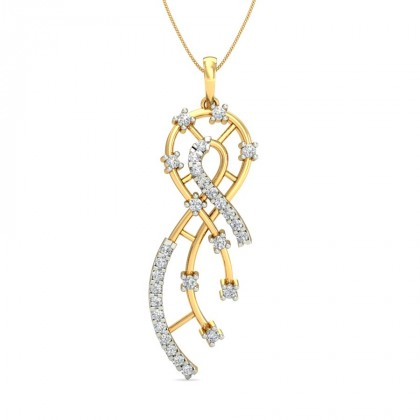 CARYS DIAMOND FASHION PENDANT in 18K Gold