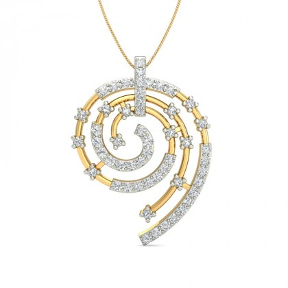 PRITIKA DIAMOND FASHION PENDANT in 18K Gold
