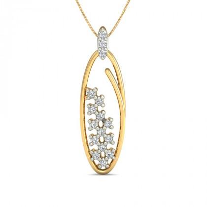 JAYDA DIAMOND FASHION PENDANT in 18K Gold