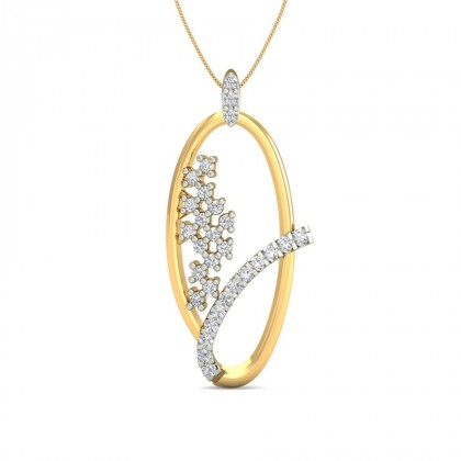 KISHORI DIAMOND FASHION PENDANT in 18K Gold