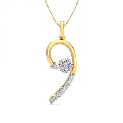 LIPIKA DIAMOND FASHION PENDANT in 18K Gold