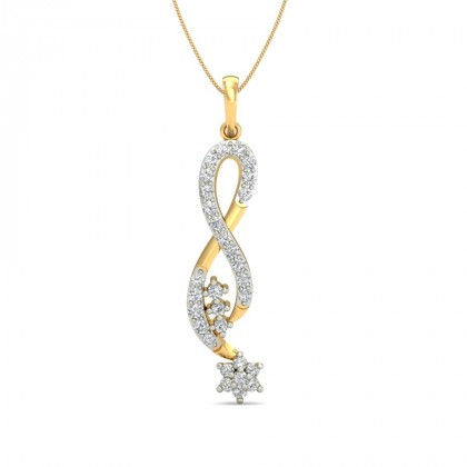 ANALIA DIAMOND FASHION PENDANT in 18K Gold
