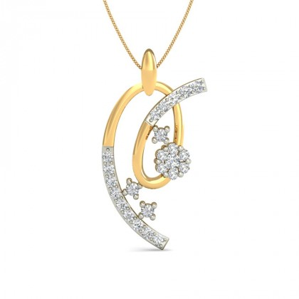 GORMA DIAMOND FASHION PENDANT in 18K Gold