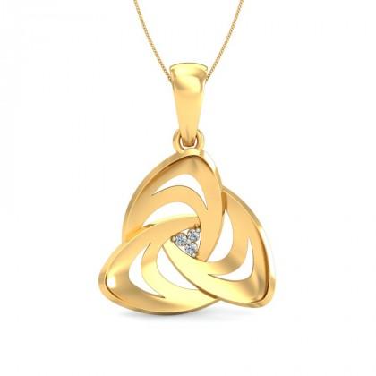 ANA DIAMOND FASHION PENDANT in 18K Gold
