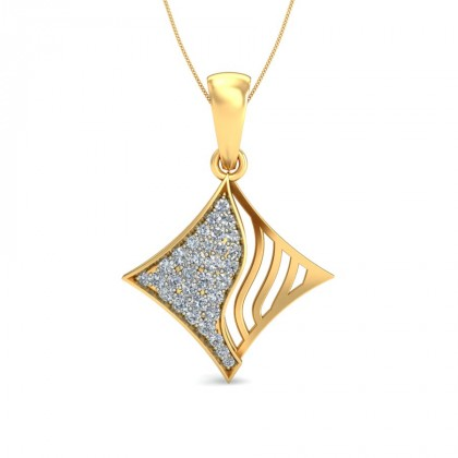 TAPASI DIAMOND FASHION PENDANT in 18K Gold