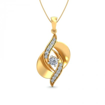 MADHURA DIAMOND FASHION PENDANT in 18K Gold
