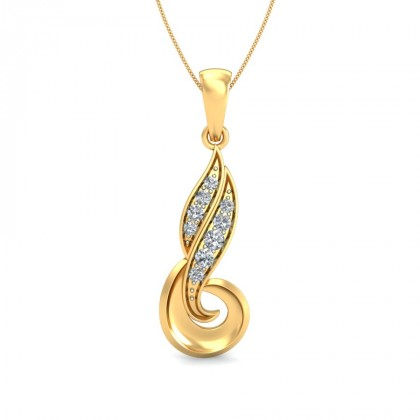 PUNYA DIAMOND FASHION PENDANT in 18K Gold