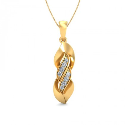 MANGALA DIAMOND FASHION PENDANT in 18K Gold