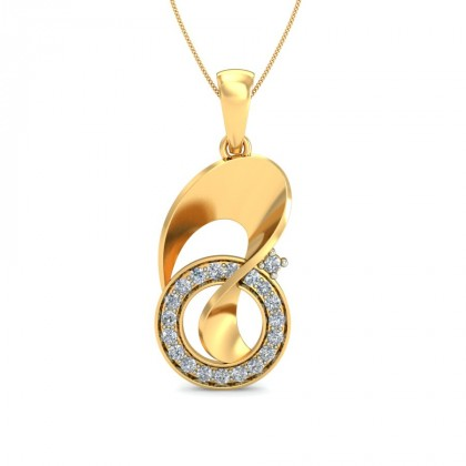 ZOLA DIAMOND FASHION PENDANT in 18K Gold