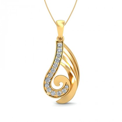SEVATI DIAMOND FASHION PENDANT in 18K Gold
