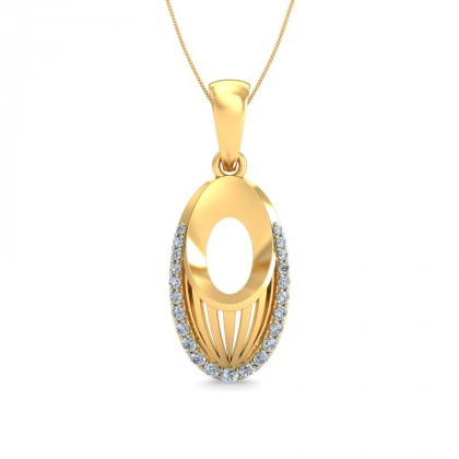 TULIKA DIAMOND FASHION PENDANT in 18K Gold