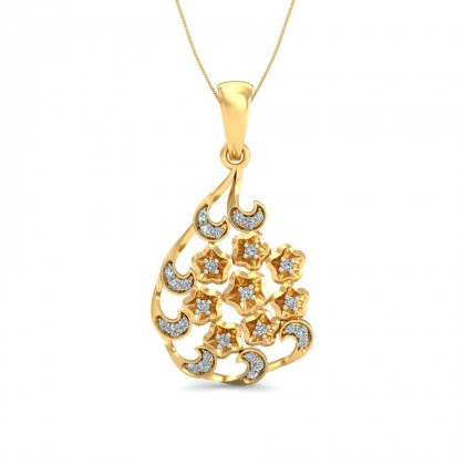 AMARI DIAMOND FASHION PENDANT in 18K Gold