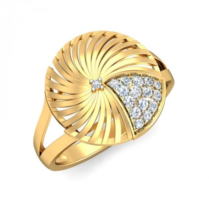 MARIANA DIAMOND COCKTAIL RING in 18K Gold