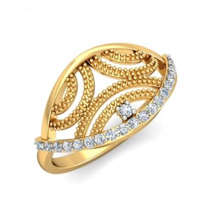 CYNTHIA DIAMOND COCKTAIL RING in 18K Gold