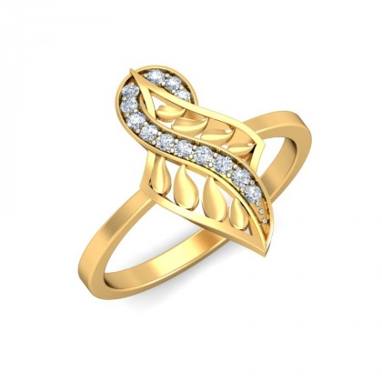 SARASI DIAMOND COCKTAIL RING in 18K Gold
