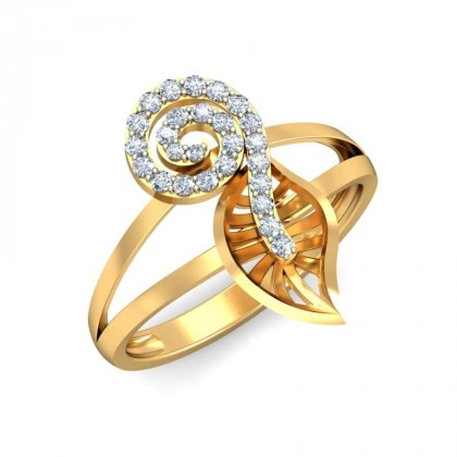 SUNITI DIAMOND COCKTAIL RING in 18K Gold