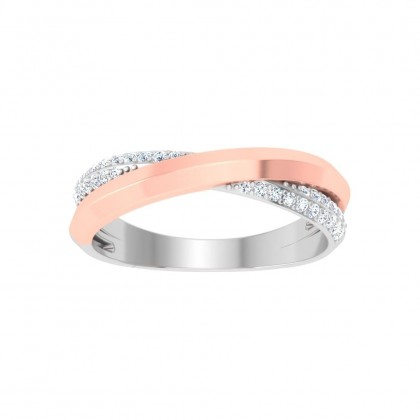 DEVINA DIAMOND COUPLES RING in 18K Gold