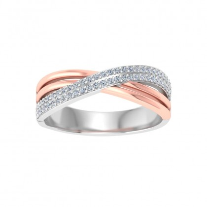 TULA DIAMOND COUPLES RING in 18K Gold